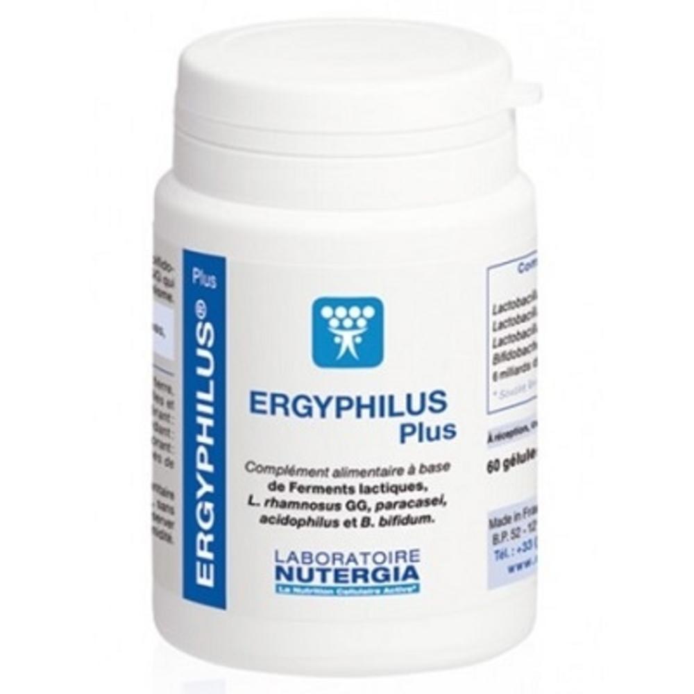 Ergyphilus plus - 60 gélules - nutergia -147988