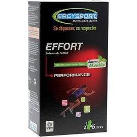 Ergysport effort menthe 6 sticks - nutergia -225349