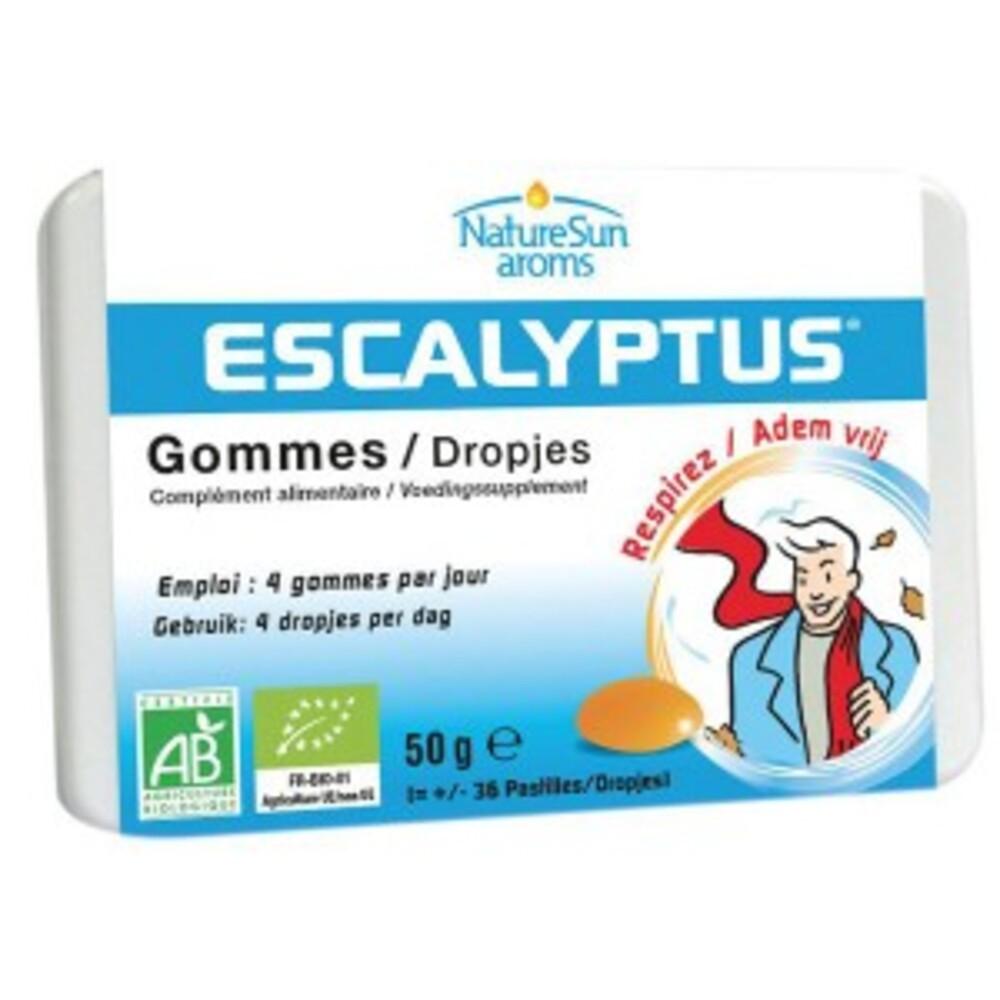 Escalyptus pastilles - 36 pastilles - divers - naturesun'arôms -140098