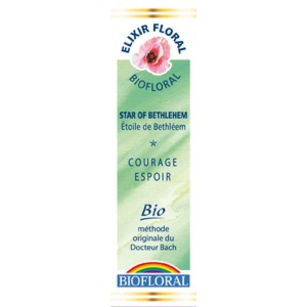 Etoile de béthléem (star of bethleem) - 20.0 ml - elixirs floraux - biofloral Humeur : découragement / désespoir-1321