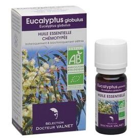 Eucalyptus globulus bio - 10.0 ml - les huiles essentielles bio - dr. valnet Voies respiratoires basses-15148