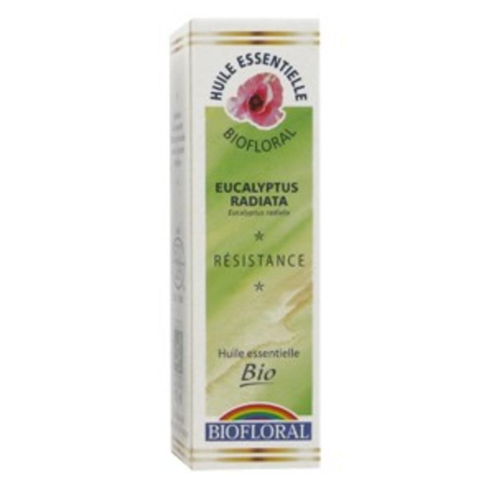 Eucalyptus radiata bio - 10.0 ml - les huiles essentielles bio - biofloral Décongestionnent la sphère O.R.L.-8828
