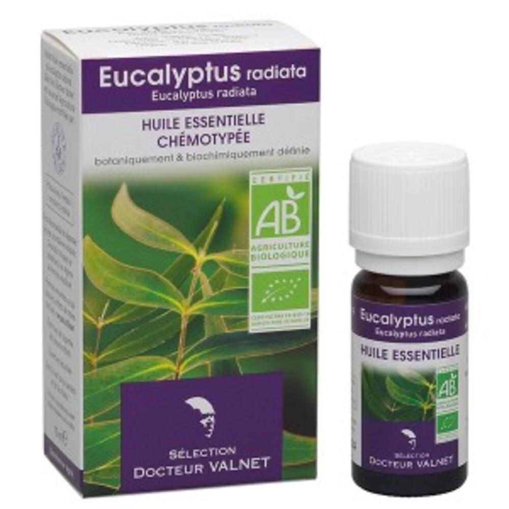 Eucalyptus radiata bio - 10.0 ml - les huiles essentielles bio - dr. valnet Voies respiratoires hautes-15149