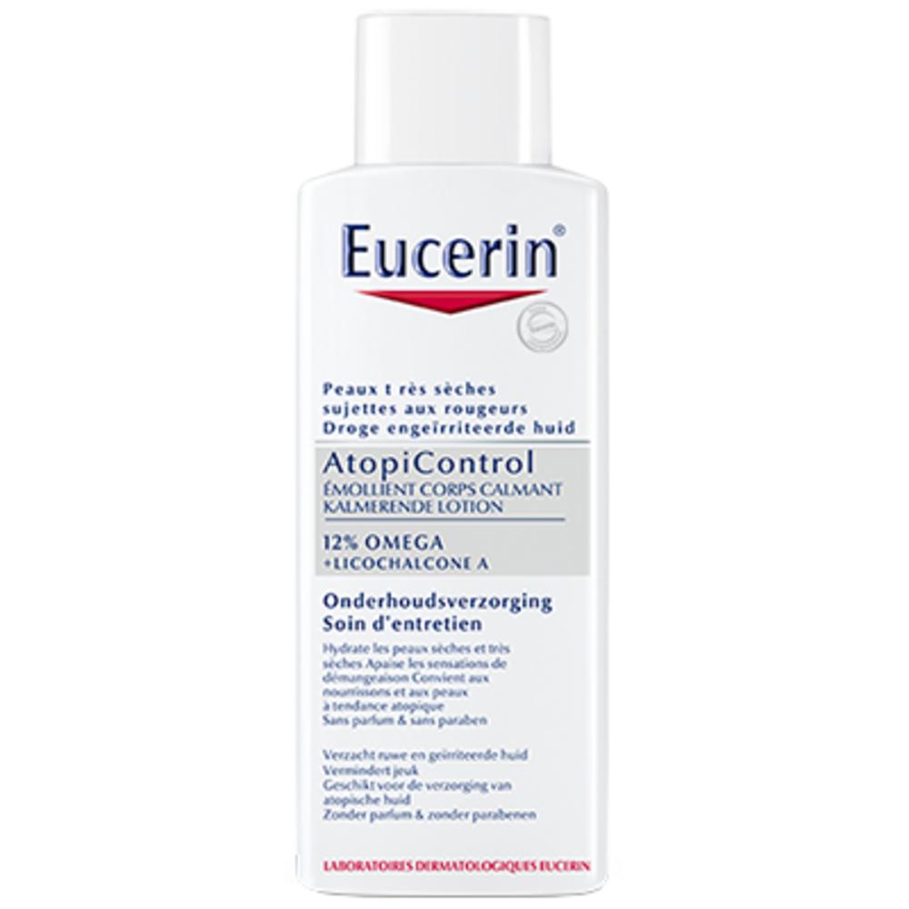 EUCERIN AtopiControl Emollient Corps Calmant 250ml - Eucerin -112495