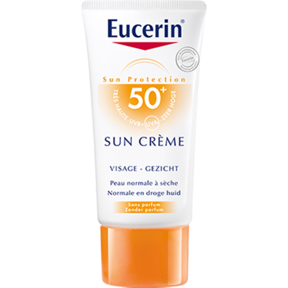eucerin sun cr me spf50 peau normale s che 50ml eucerin achat au meilleur prix. Black Bedroom Furniture Sets. Home Design Ideas