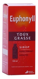 Euphonyll expectorant adulte sirop - 180.0 ml - mayoly spindler -192525
