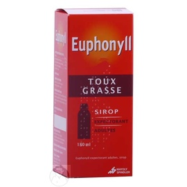 EUPHONYLL EXPECTORANT Adulte Sirop - 180ml - 180.0 ML - MAYOLY SPINDLER -192525