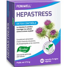 Evalar hepastress detox contrôle 60 capsules - evalar -226244