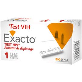 Exacto test vih autotest de dépistage - exacto -221800