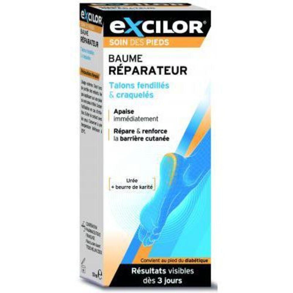 Excilor baume réparateur talons fendillés 50ml - excilor -221338