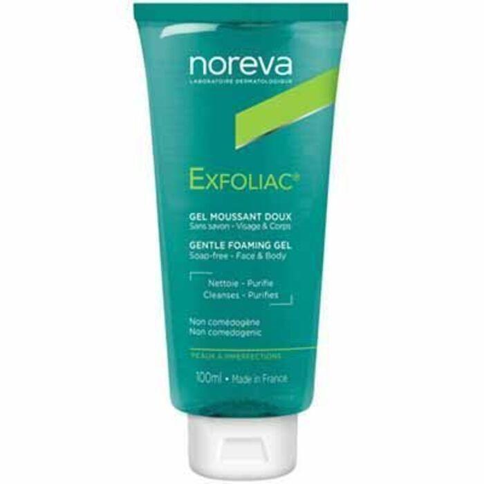 Exfoliac gel moussant doux 100ml Noreva-225436