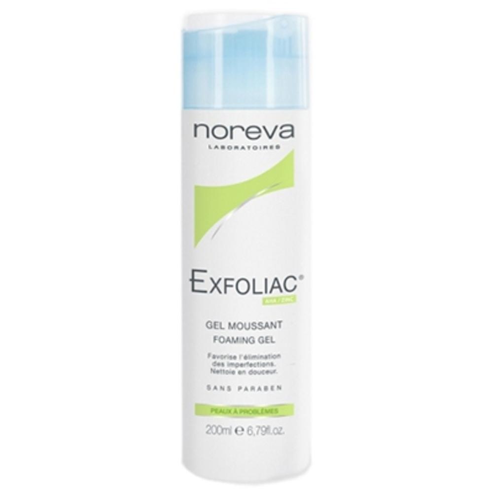 Exfoliac gel moussant - noreva -197874