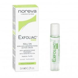 Exfoliac roll-on soin anti-imperfections 5ml - noreva -220401