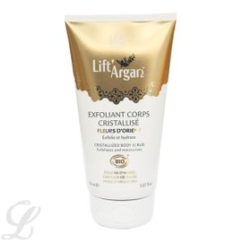 Exfoliant corps cristallisé bio - tube 150 ml - divers - lift'argan -189487