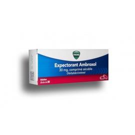 Expectorant ambroxol 30mg - 30 comprimés - vicks -206935