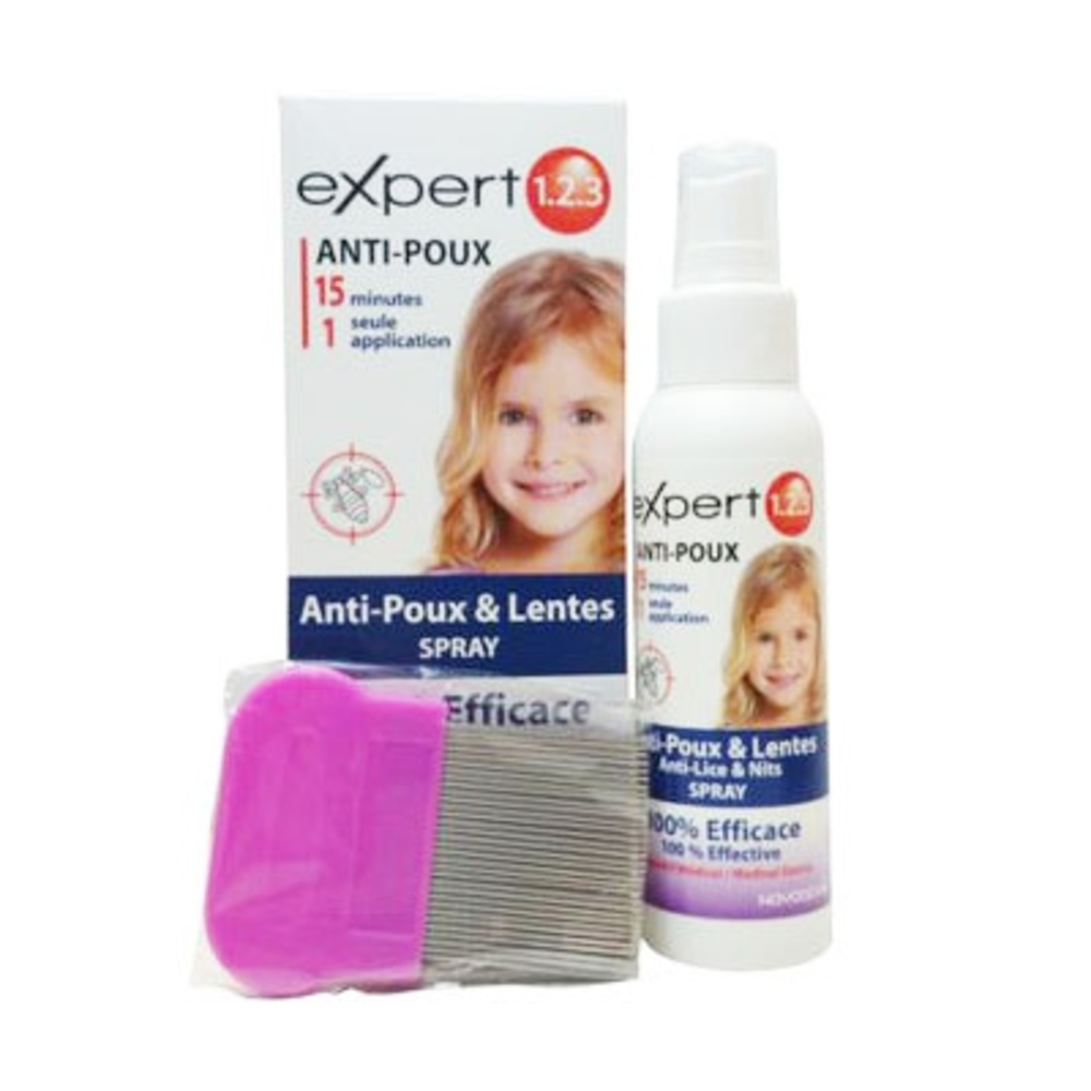 Expert 123 anti-poux - 200ml - novodex -201359