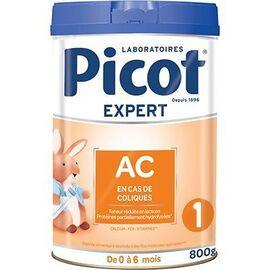 Expert lait ac coliques 0-6mois 800g - picot -223696