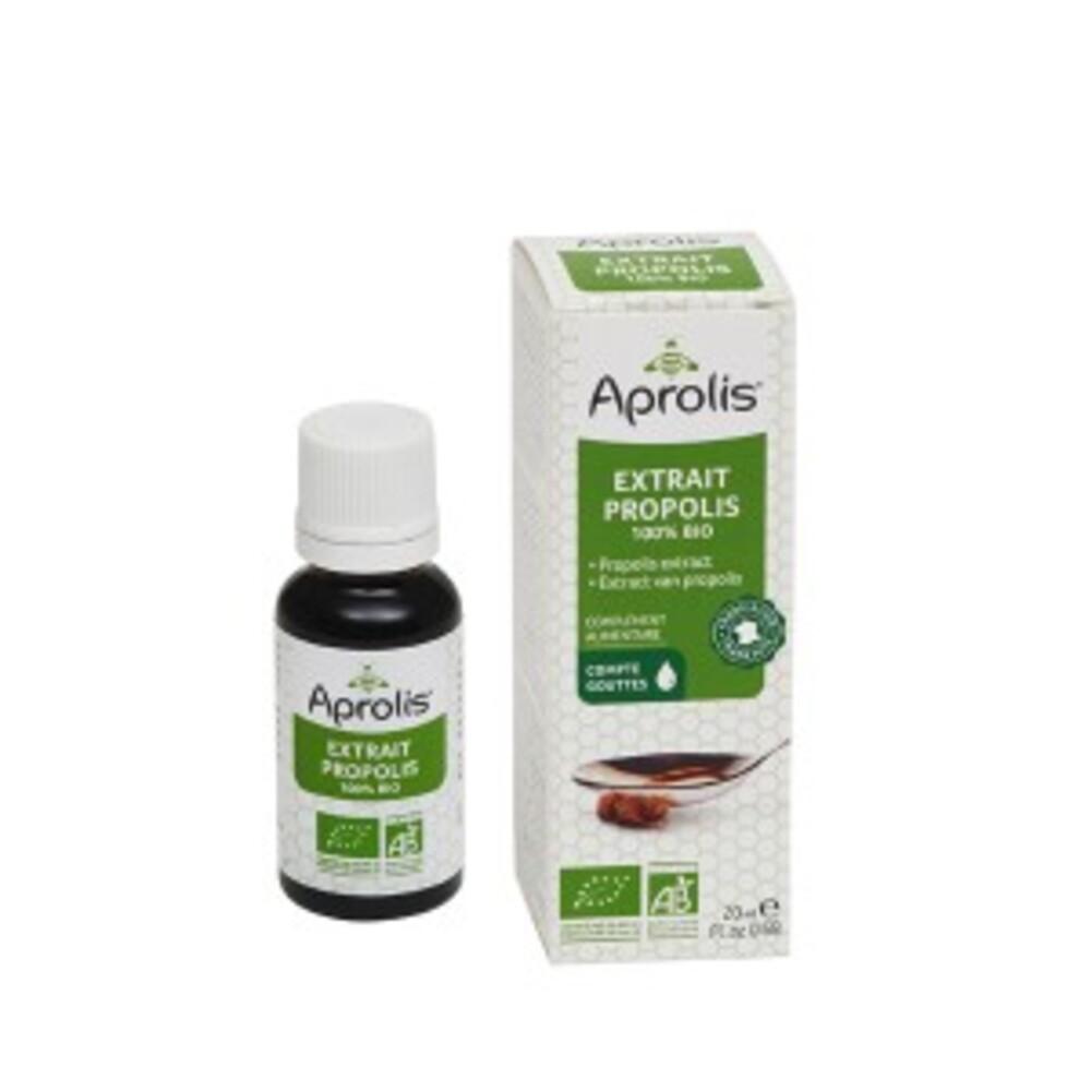Extrait de propolis bio - 20 ml - divers - aprolis -133445