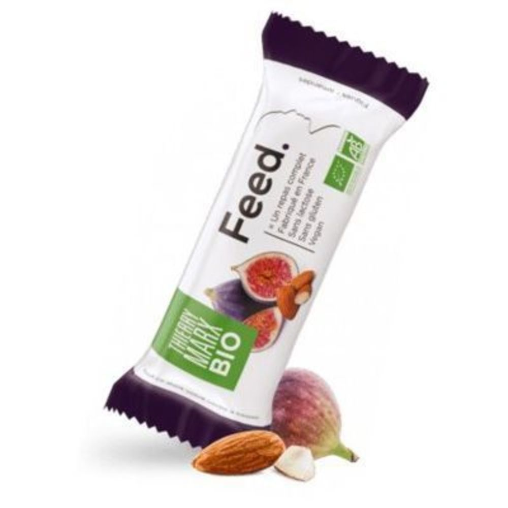 Feed barre repas complet thierry marx bio figues amandes 371kcal 100g - feed -222075