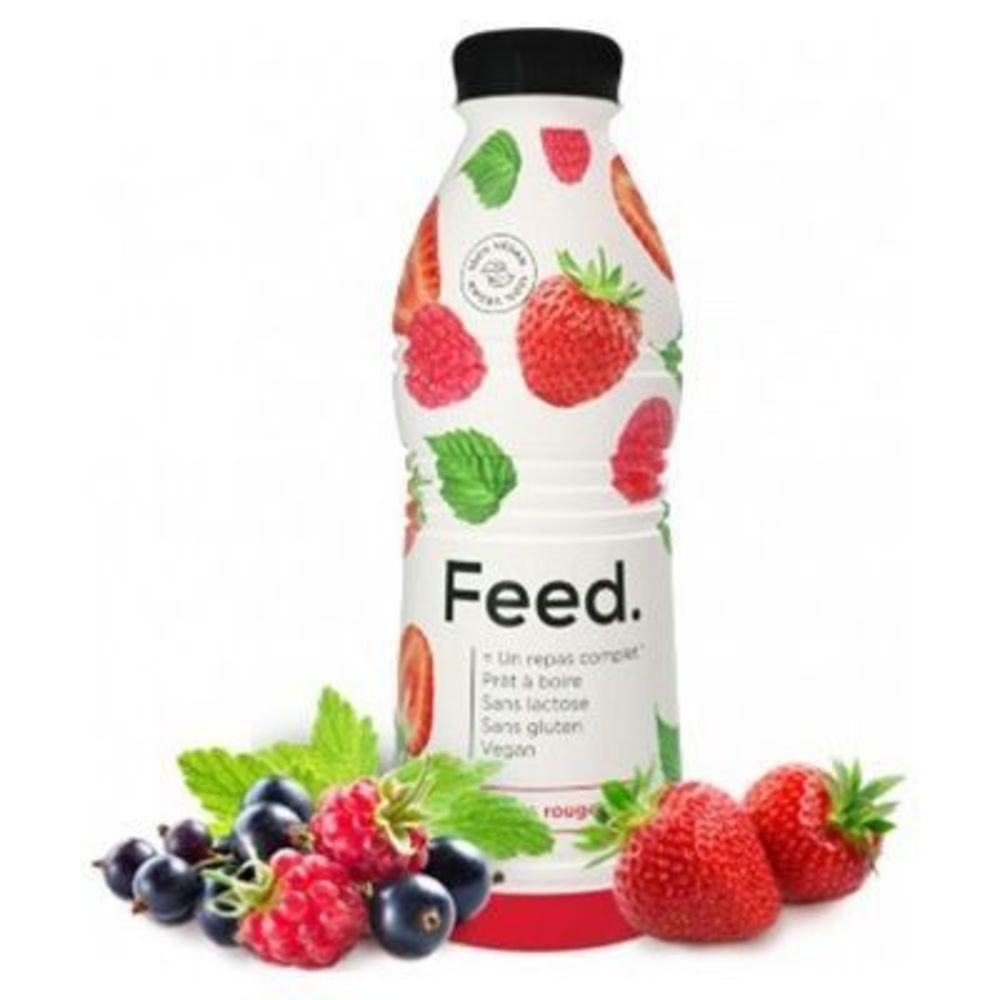 Feed boisson repas complet fruits rouges 650kcal 750ml - feed -222084