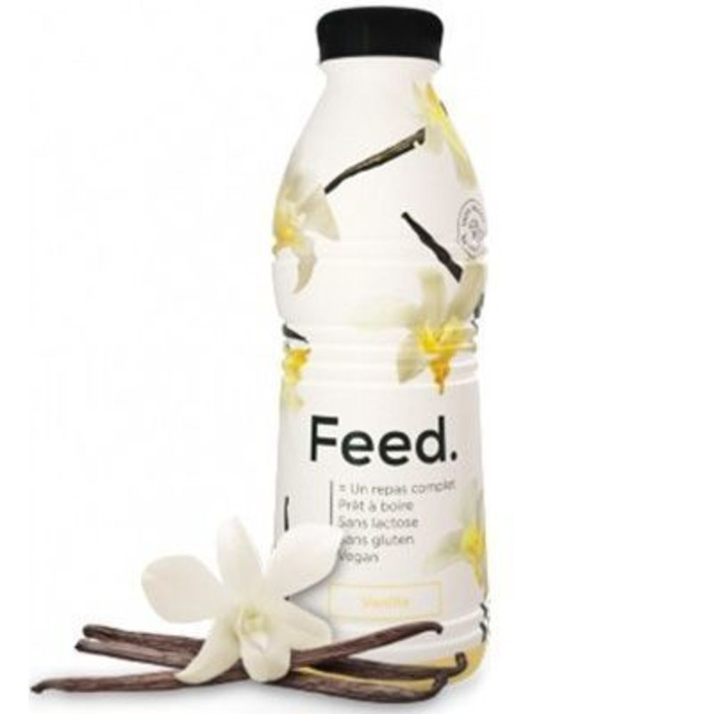 FEED Boisson Repas Complet Vanille 650kcal 750ml - Feed -222093