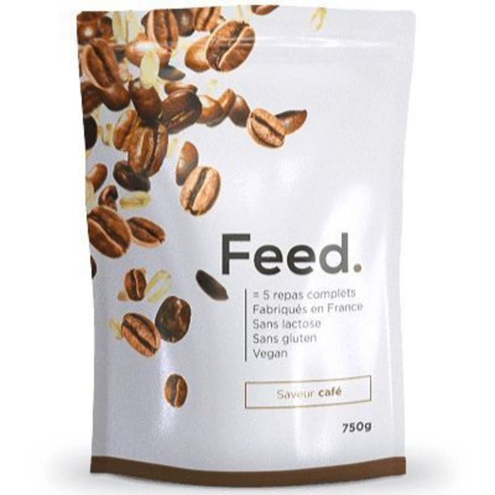 Feed poudre 5 repas complets café 651kcal 750g - feed -222437