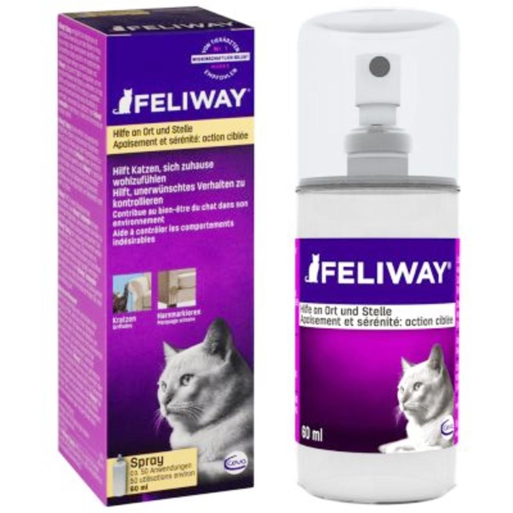 FELIWAY Spray apaisement et sérénité - 60ml - Feliway -206032
