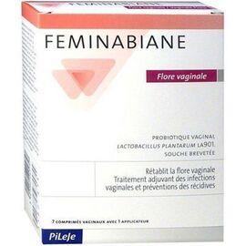 Feminabiane flore vaginale 7 comprimés vaginaux - pileje -220677