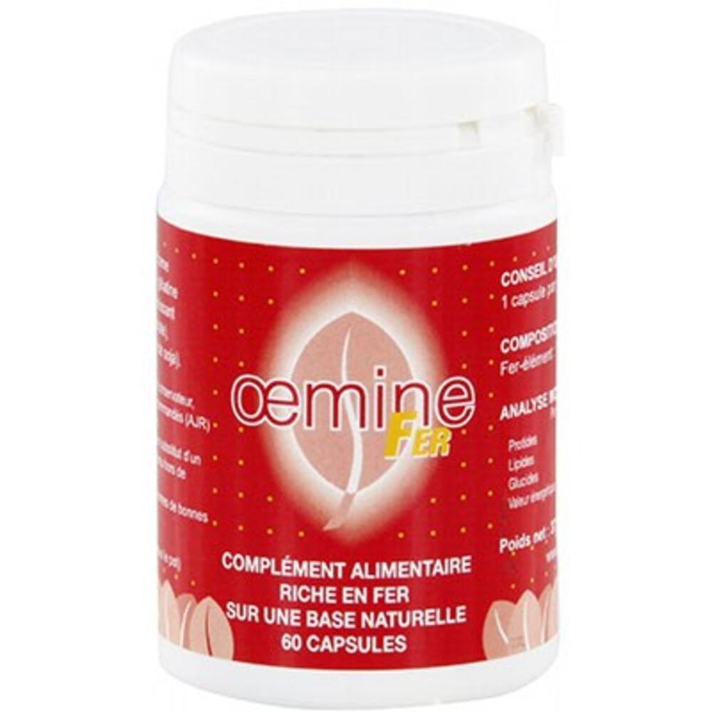 Fer 60 capsules - divers - oemine -140137