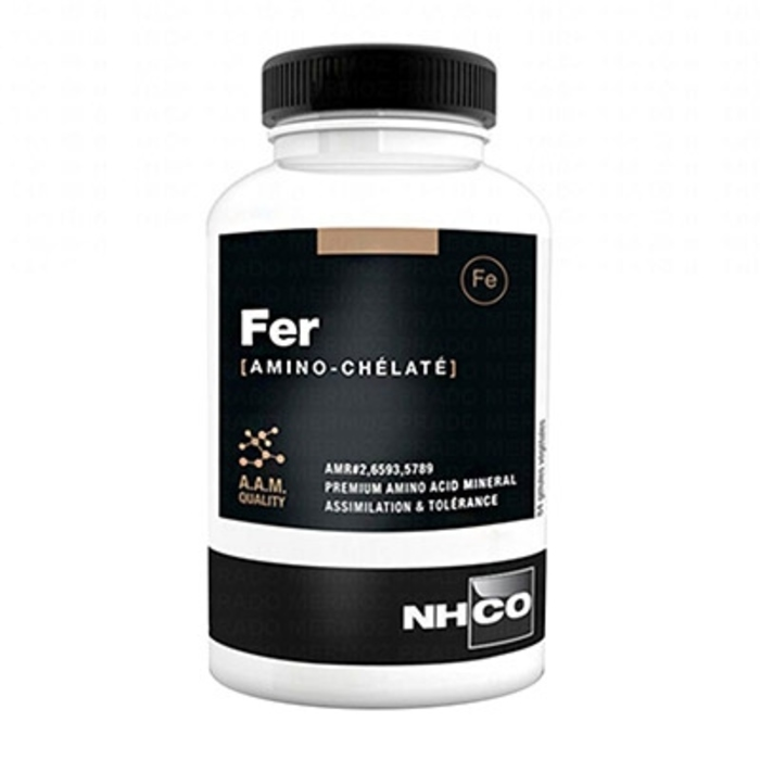 Fer amino-chélaté - 84 gélules Nhco-200046