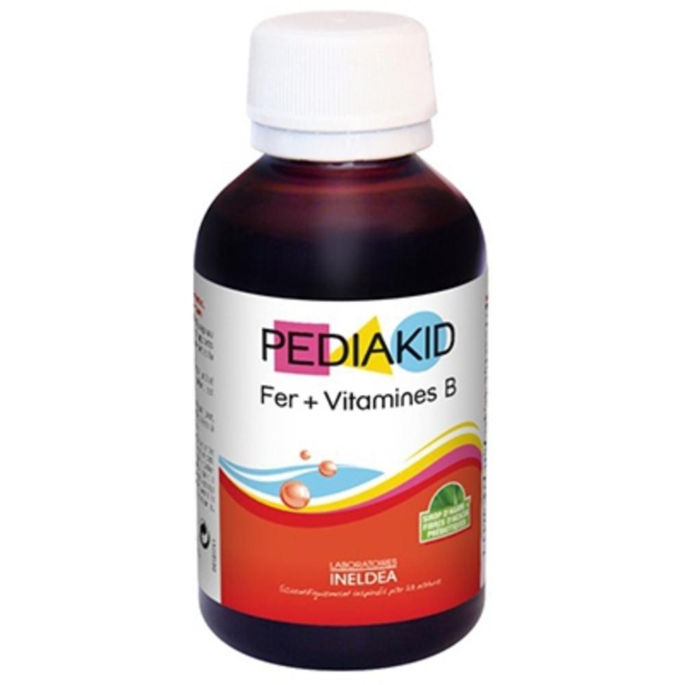 Fer + vitamines b - 125.0 ml - pédiakid - pediakid Contre la fatigue et la pâleur du teint-10952
