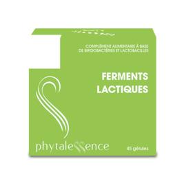 Ferments lactiques 45 gélules - phytalessence -149893