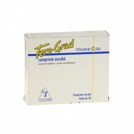 Fero-grad vitamine c 500mg - 30 comprimés - teofarma -193950
