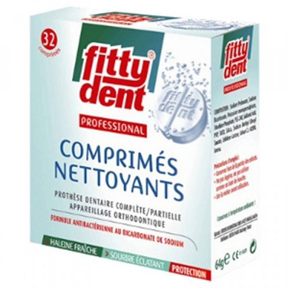 Fittydent comprimés nettoyants - fittydent -199249