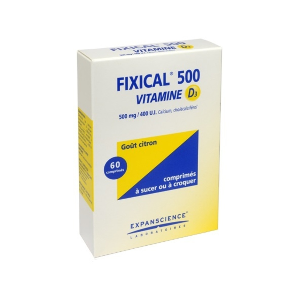 Fixical 500 vitamine d3 - expanscience -192300