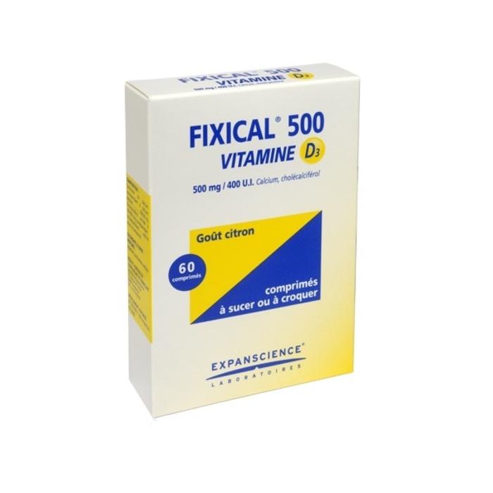 Fixical 500 vitamine d3 Expanscience-192300