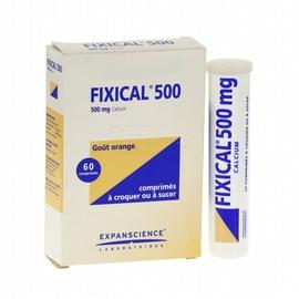 Fixical 500mg - 60 comprimés à sucer - expanscience -192134