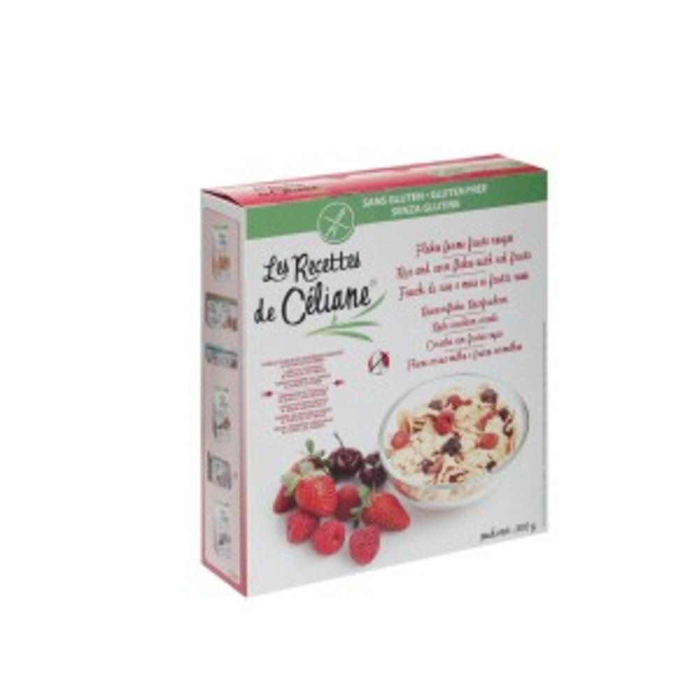Flakes forme fruits rouge - 300 g - divers - les recettes de celiane -140570