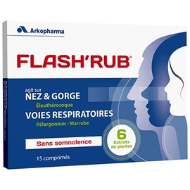 Flash'rub - gênes respiratoires - arkopharma Flash'Rub®-191886