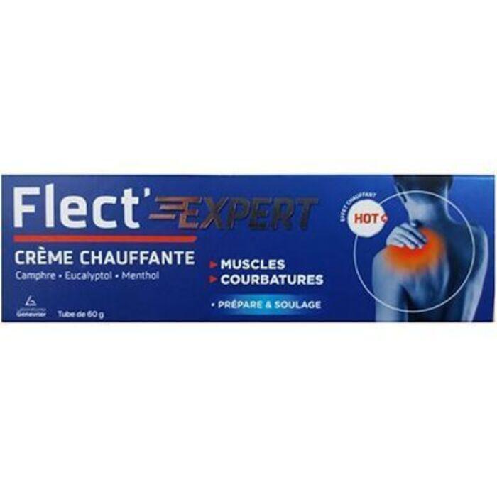 Flect'expert crème chauffante 60g Genevrier-223532