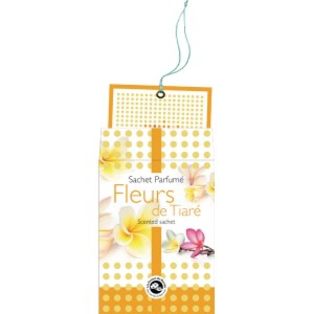Fleur de tiaré - sachet parfumé - divers - encens du monde - florisens -189103