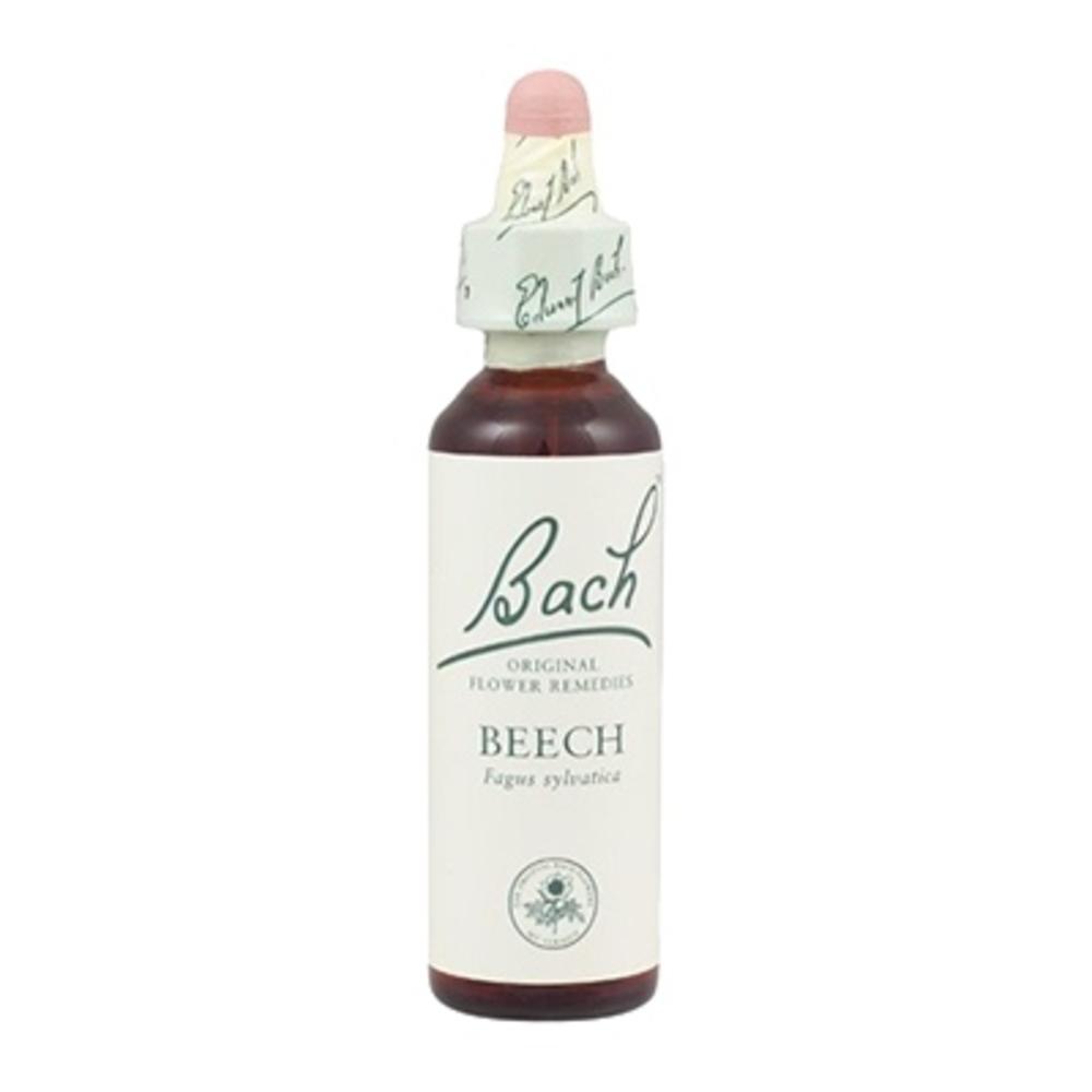 Fleurs de bach original beech 3 - 20.0 ml - bach original Sentiment de préoccupation excessive - Tolérance-8129