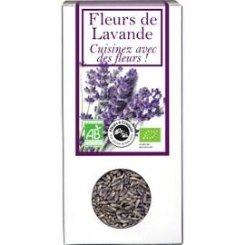 Fleurs de lavande bio - boîte de 40 g - divers - florisens -135787