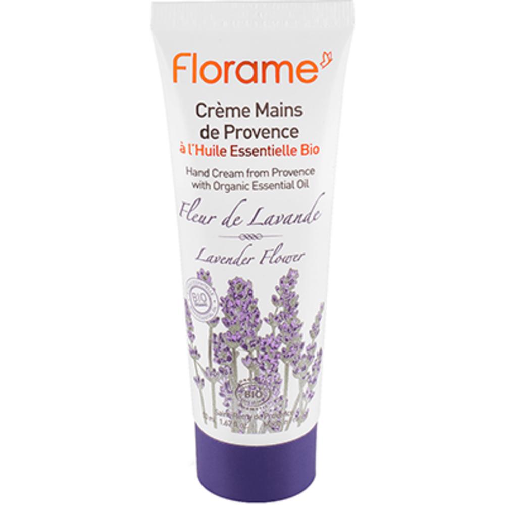 Florame crème mains fleur de lavande bio 50ml - florame -225627