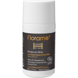 Florame homme déodorant bille bio 50ml - florame -225630