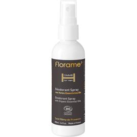 Florame homme déodorant spray bio 100ml - florame -225633