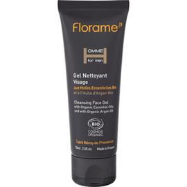 Florame homme gel nettoyant visage bio 75ml - 75.0 ml - cosmétique bio homme - florame Capital jeunesse des hommes-9177