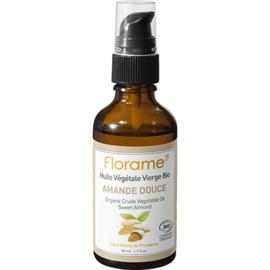 Florame huile végétale vierge bio amande douce 50ml - divers - florame -142140