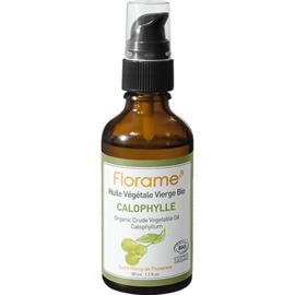 Florame huile végétale vierge bio calophylle 50ml - divers - florame -142136