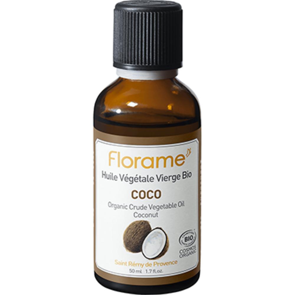 Florame huile végétale vierge bio coco 50ml - florame -225669